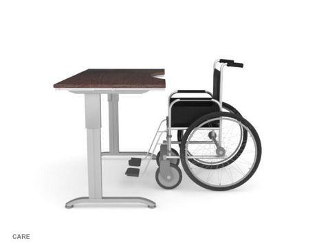 Стол для инвалидов колясочников регулируемый по высоте Ergostol Care