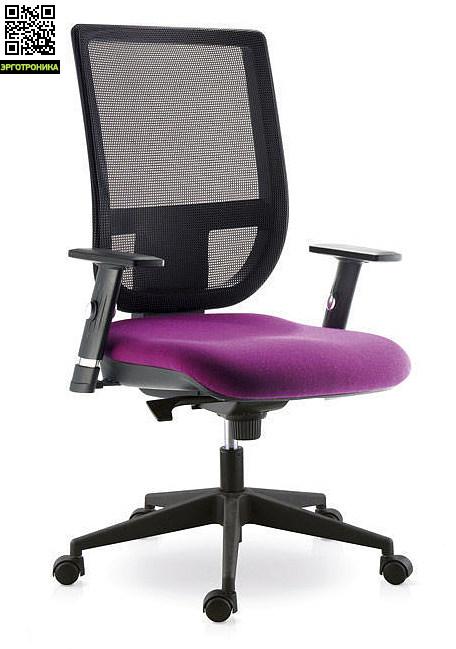 Офисное кресло Sokoa Tertio RЭргономичные кресла<br>Эргономическое сиденье<br>Регулируемый подлокотник<br>Сетчатая спинка<br>