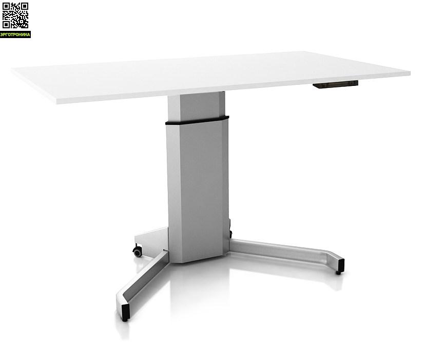 Регулируемый стол ErgoStol Uno V Белый