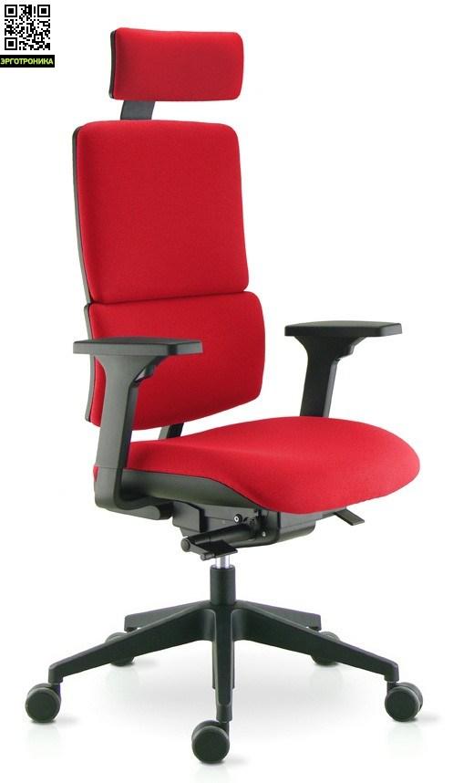 Офисное кресло Wi-Max/T Красный цвет