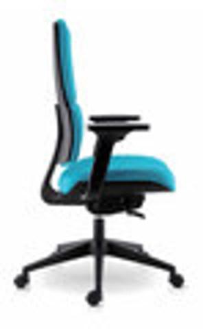 Офисное кресло Wi-Max/T Голубой цвет