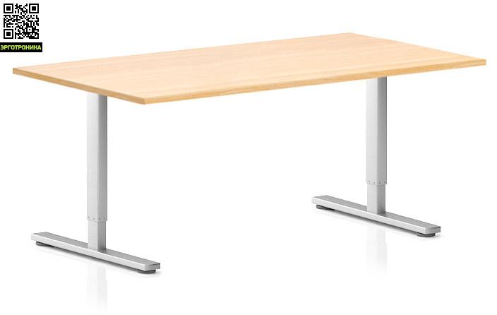 Регулируемый компьютерный стол ErgoStol Flex Дуб