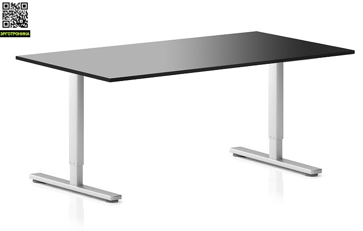 Регулируемый компьютерный стол ErgoStol Flex Черный