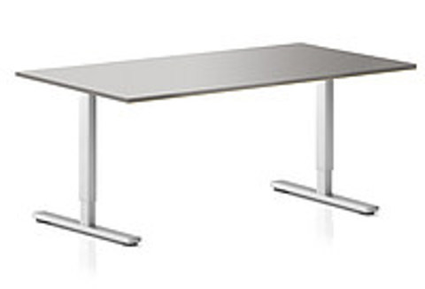 Регулируемый компьютерный стол ErgoStol Flex Титан