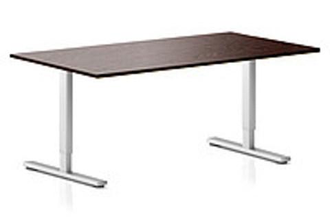 Регулируемый компьютерный стол ErgoStol Flex Венге