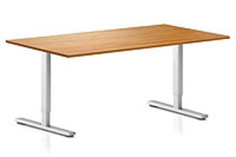 Регулируемый компьютерный стол ErgoStol Flex Орех