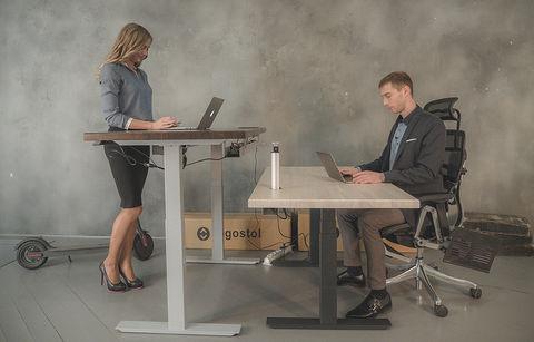 Регулируемый компьютерный стол Ergostol Optima