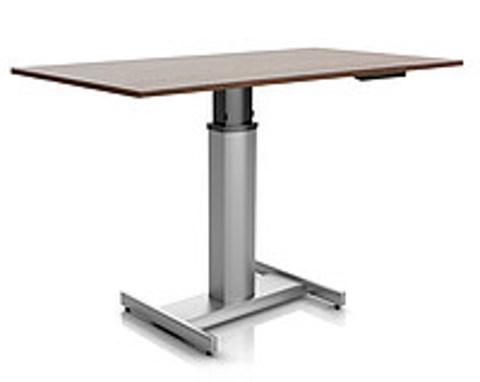 Регулируемый стол Ergostol Uno H Венге (Silver)
