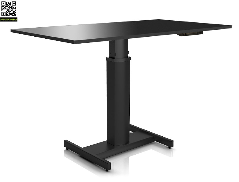 Регулируемый стол ErgoStol Uno H Черный (Black)