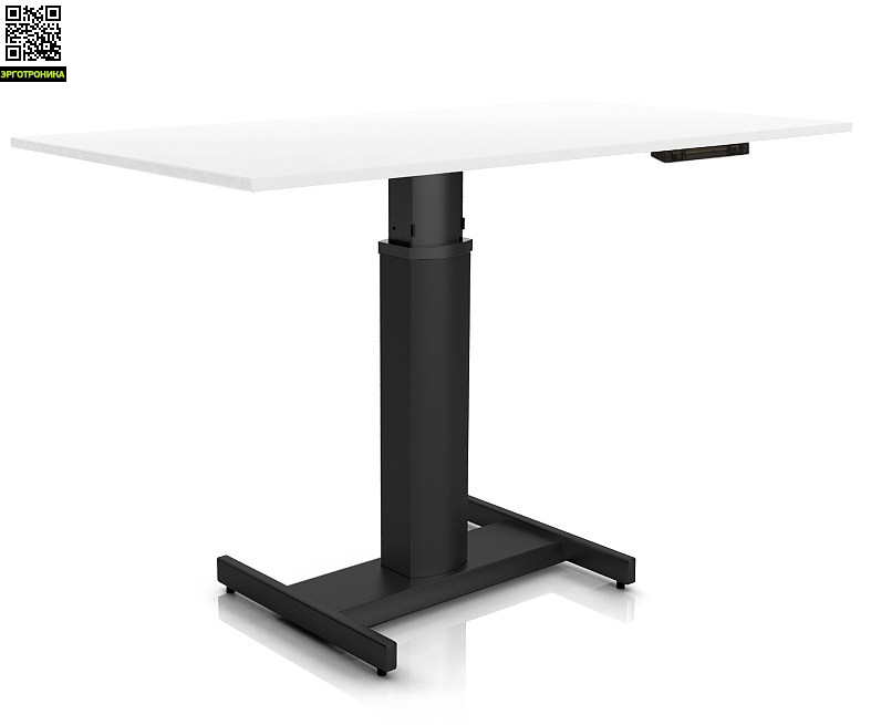 Регулируемый стол ErgoStol Uno H Белый (Black)