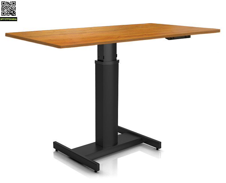 Регулируемый стол Ergostol Uno H Орех (Black)