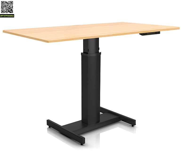 Регулируемый стол Ergostol Uno H Дуб (Black)