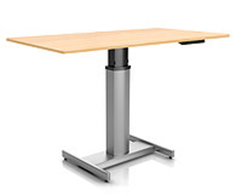 Регулируемый стол Ergostol Uno H Дуб (Silver)