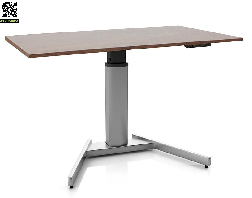 Регулируемый стол ErgoStol Uno A Венге (Silver)