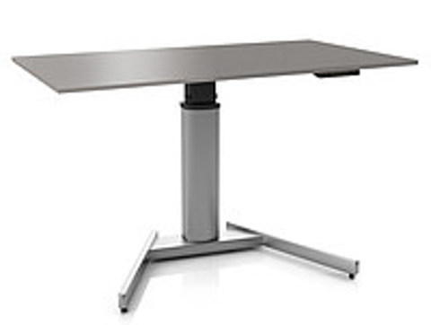 Регулируемый стол ErgoStol Uno A Титан (Silver)