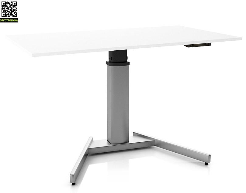 Регулируемый стол ErgoStol Uno A Белый (Silver)