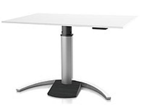 Регулируемый стол Ergostol Uno C Белый (Silver)