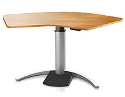 Регулируемый стол Ergostol Uno C Вишня, волна