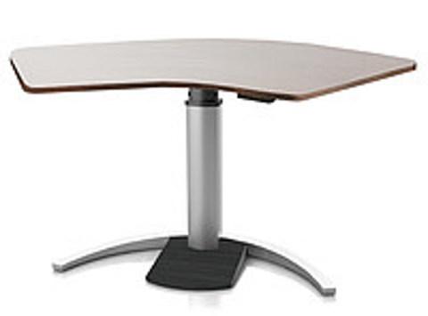 Регулируемый стол Ergostol Uno C Венге, волна