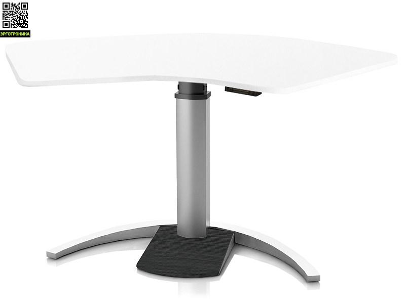 Регулируемый стол Ergostol Uno C Белый, волна