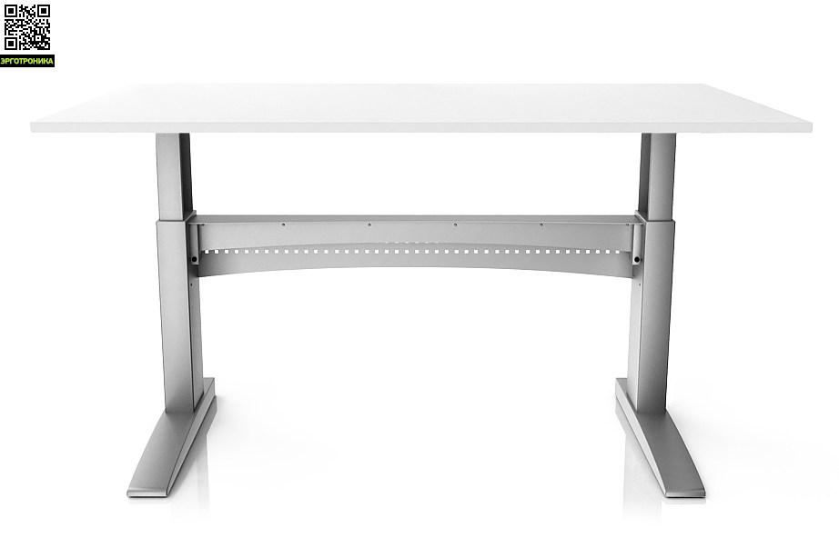 Стол с повышенной устойчивостью ErgoStol Bastion Белый