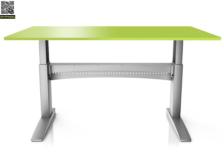 Стол с повышенной устойчивостью ErgoStol Bastion Лайм