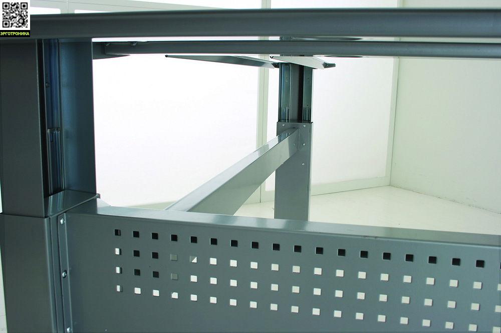 Стол на трех опорах ErgoStol StrategСтолы<br>Стол для работы сидя и стоя<br>Электрорегулировка высоты<br>