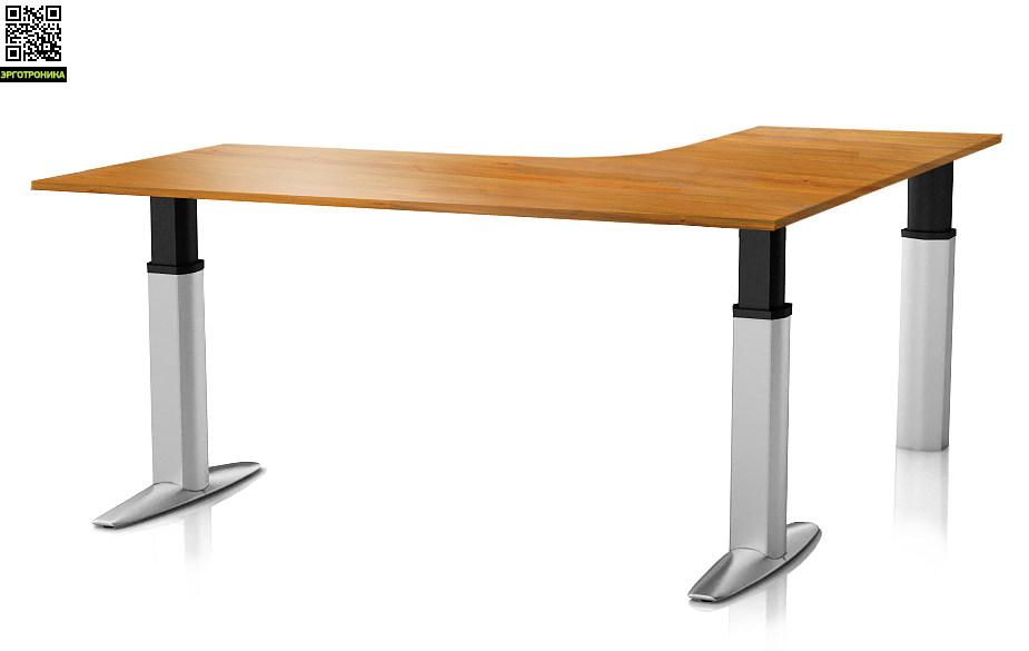 Регулируемый стол ErgoStol Senate для переговорныхСтолы<br>Регулируемый стол для переговорных<br>Выдерживает до 200 кг<br>Большой выбор цветов<br>