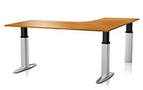 Регулируемый стол Ergostol Senate для переговорных Орех