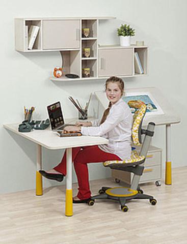 Угловой растущий стол-парта Stalker M
