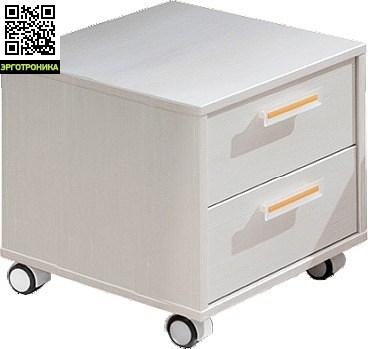 Тумба Tr2Детская мебель: тумбы, стеллажи, приставки<br>2 ящика<br>На колесиках<br>