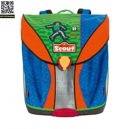 Ранец Scout NanoЛегкие ранцы<br>Ранец Scout Nano имеет необычный дизайн, сочетающий элементы школьного ранца и рюкзака для отдыха. Имеет ортопедическую спинку, которая формирует правильную осанку и уменьшает давление на позвоночник, равномерно распределяя вес ранца.<br>