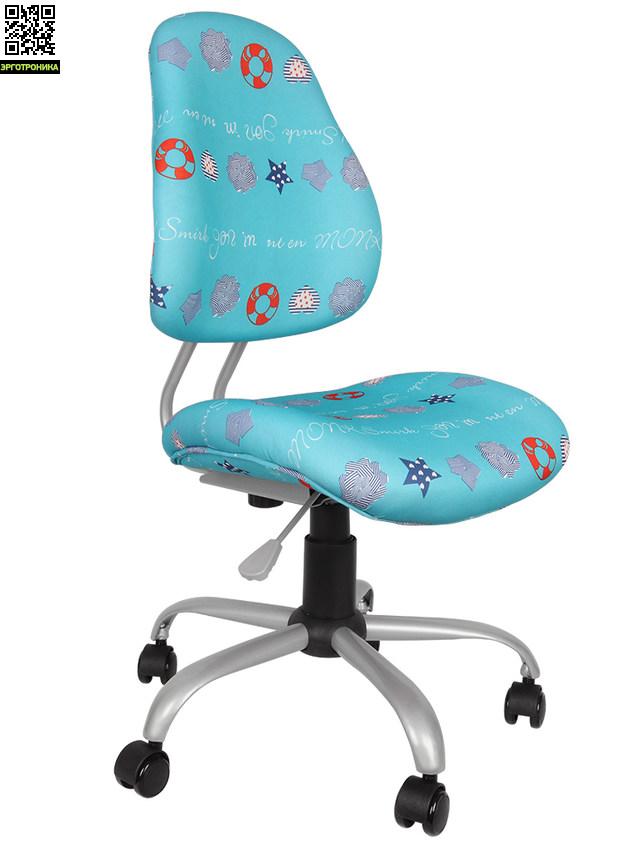 Детское кресло Children EVO Y-510Детские кресла<br>Высококачественный пенный наполнитель кресла. Использование газлифта для плавного изменения высоты кресла в диапазоне от 33 до 43 сантиметров. Прочная металлическая крестовина кресла с пятью прорезиненными колесами обеспечивает его прочность и мобильность. Колеса с автоблокировкой.<br>