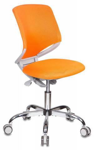 Детское кресло Buro KD-7 Оранжевая обивка TW-96-1