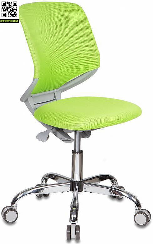 Детское кресло Buro KD-7 Салатовая обивка TW-18