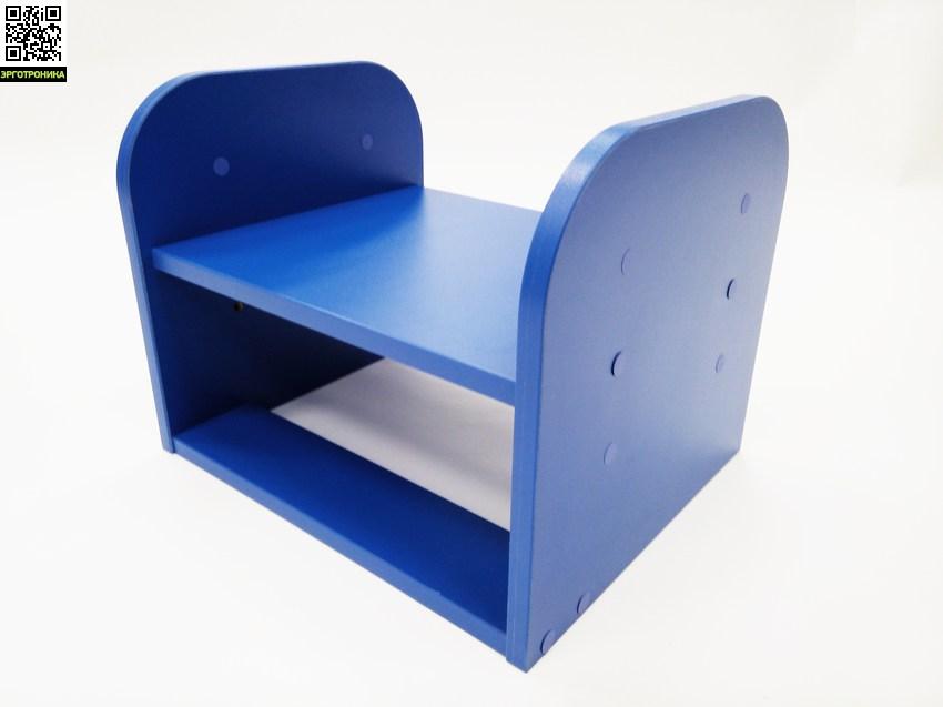 Подставка под ногиДетские подставки под ноги<br>3 регулируемых положения, Качественный материал, 5 различных цветов, Прочная конструкция (выдерживает нагрузку до 85 кг)<br>
