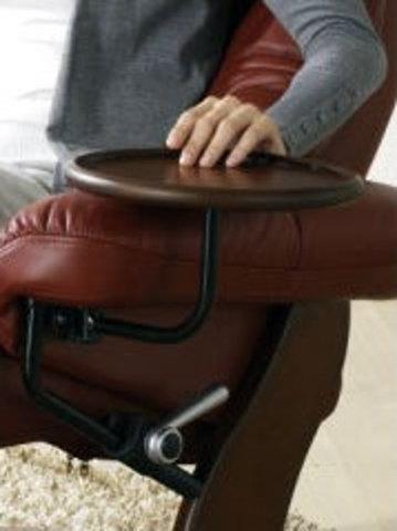 Съемный круглый столик-подставка к креслу Relax