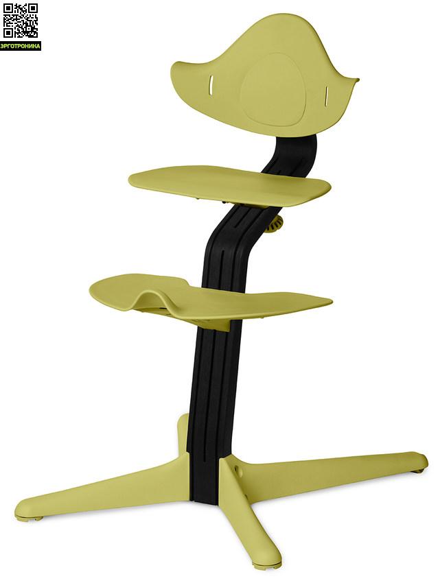 Детский стул Nomi Черный - Лайм