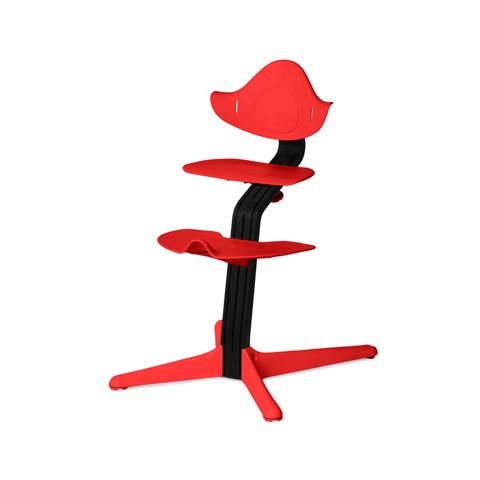 Детский стул Nomi Черный - Коралл