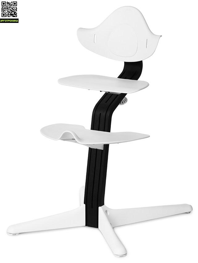 Детский стул Nomi Черный - Белый