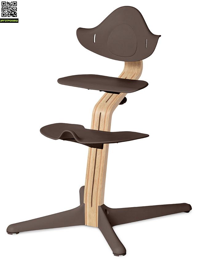 Детский стул Nomi Белый - Кофе