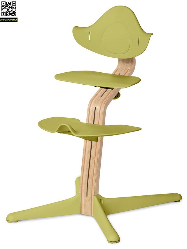 Детский стул Nomi Белый - Лайм