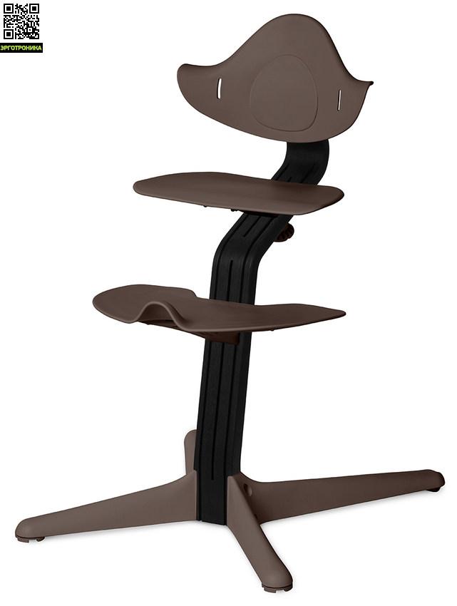 Детский стул Nomi Черный - Кофе