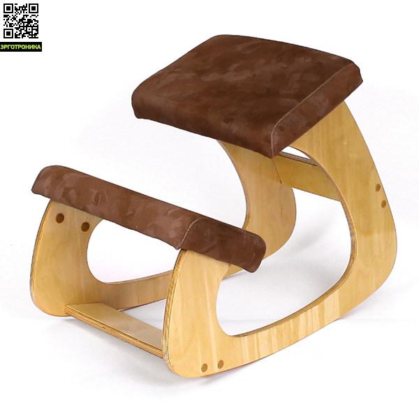 Стул с упором в колени Smartstool BabyBalanceДетские коленные стулья<br>Коленный стул, в основном предназначен для детей и подростков. Выдерживает нагрузку до 60 кг, уменьшает нагрузку на позвоночник, позволяет пользователю поддерживать динамическую позицию<br>