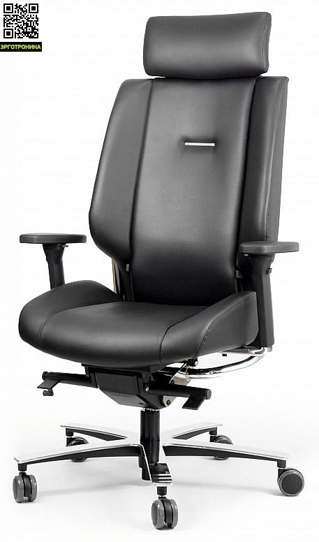Кресло руководителя Sokoa Azkar Натуральная кожа