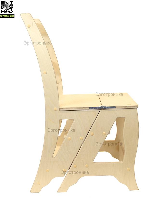 Стул-трансформер ShiftМебель для дачи<br>Незаменимый помощник на даче.<br>Функциональный стул-лестница.<br>