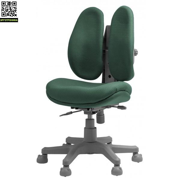 Детское компьютерное кресло Optim KidПодростковые кресла<br>Двойная ортопедическая спинка, поддержка по принципу корсета<br>Настраиваемое качание спинки;<br>Регулируемые спинки;<br>Автоматическая блокировка колёс<br>