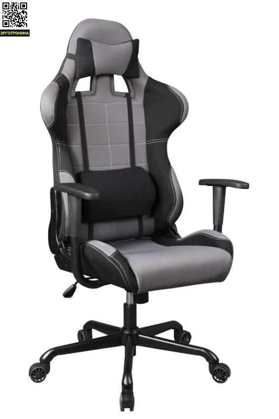 Игровое кресло ZeusЭргономичные кресла<br>Отличное игровое кресло по доступной цене, 2 дизайна на выбор, Возможность апгрейда, Две поддерживающие подушки и восторг от любимой игры в удобном кресле.<br>