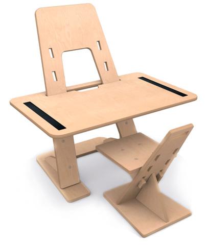 Растущая парта-мольберт+стул Dashboard