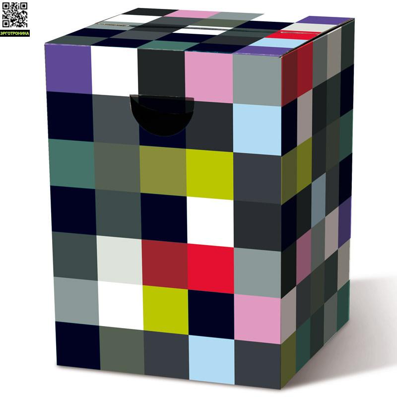 Табурет картонный сборный RandomИнтерьерные кресла, стулья, табуреты<br>Картонный табурет легко и быстро собирается, сидеть на нем удобно, как на обычном деревянном или пластиковом стуле. Также табурет можно использовать как журнальный или прикроватный столик. Для экономии жилого пространства можно с легкостью собирать его после использования. Материал: гофрированный картон                             <br>Размер: 32,5 х 32,5 х 44,4 см                                   <br>Выдерживает вес до 200 кг<br>